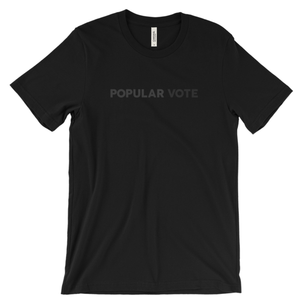 POPULAR VOTEBlack T-Shirt