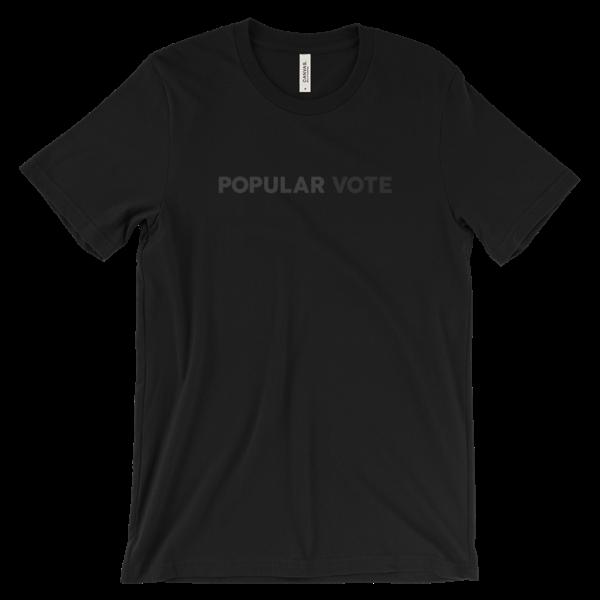POPULAR VOTEBlack T-Shirt